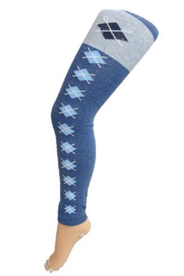 Leggings caldo cotone per bambina