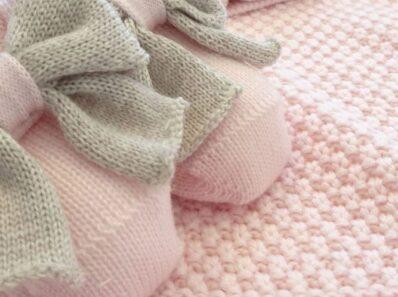 Corredini nascita in lana Bèbè di Almy