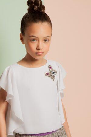 Blusa elegante per bambina Loredana
