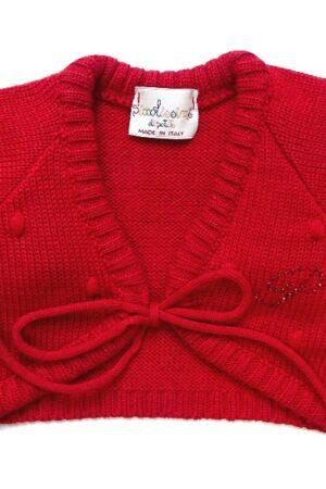 Bolero Petit in lana per bambina