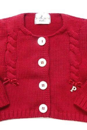 Giacchino Petit in lana per bambina