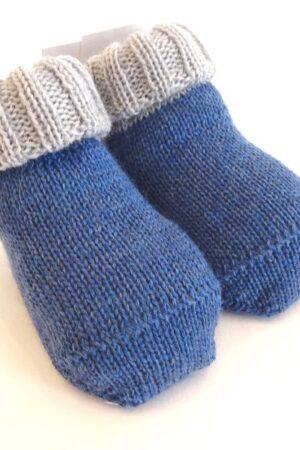 Scarpine in lana per neonato