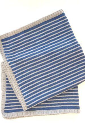 Copertina culla neonato in lana merinos