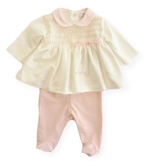 Completo neonata 2 pezzi Aletta