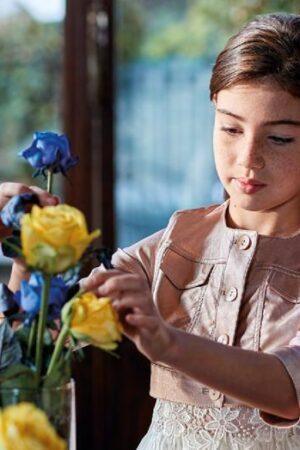 Giacchino elegante per bambina Colori Chiari
