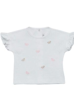 T-shirt bambina in jersey di cotone Aletta