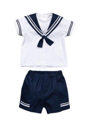 Camicia con pantaloni corti stile Cruise