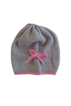 Cappellino in lana per neonata Bèbè di Almy