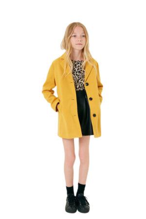 Cappotto giallo Liu jo