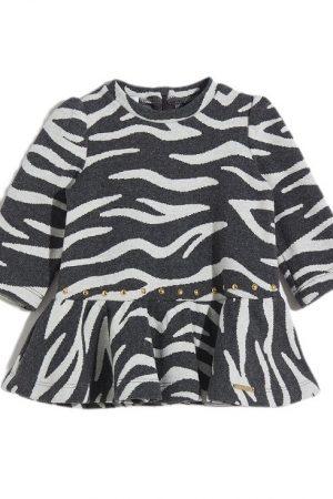 Vestito jacquard zebrato Liu-jo
