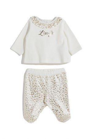 Completino da neonata panna Liu-Jo