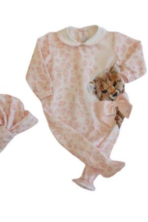 Tutina neonata in jersey