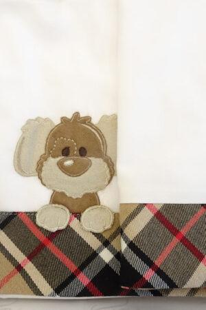 Set lenzuolino 3 pezzi per culla