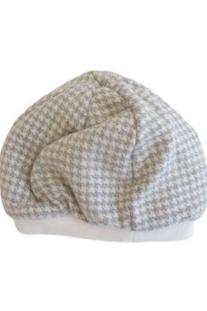 Cappellino ciniglia da neonato
