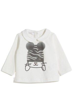 T-shirt con pompon Liu-Jo
