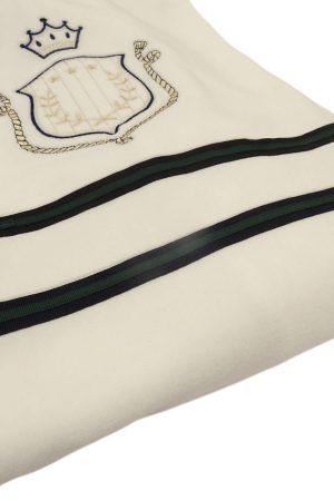 Copertina culla in ciniglia di cotone Aletta